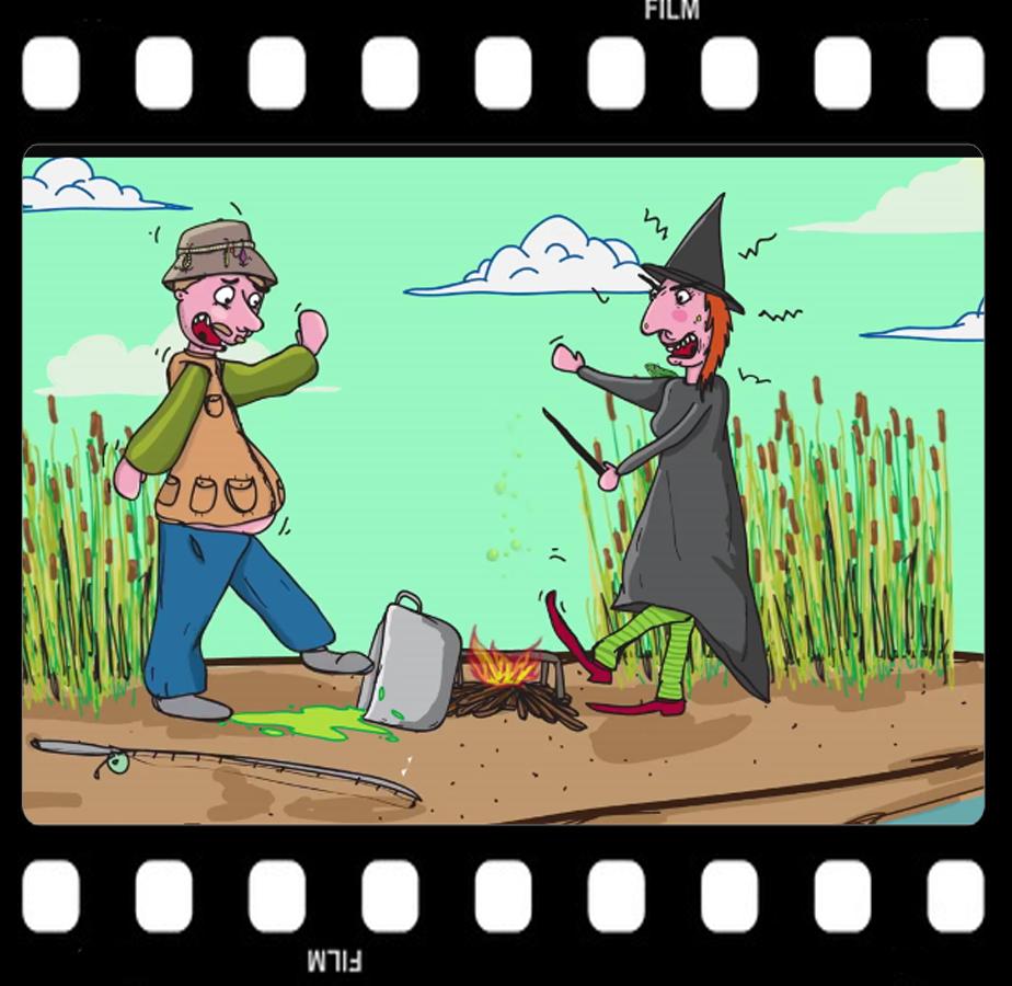 Walter mit Hexe