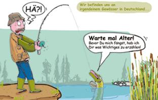 Erste Seite Comic Besatzfisch